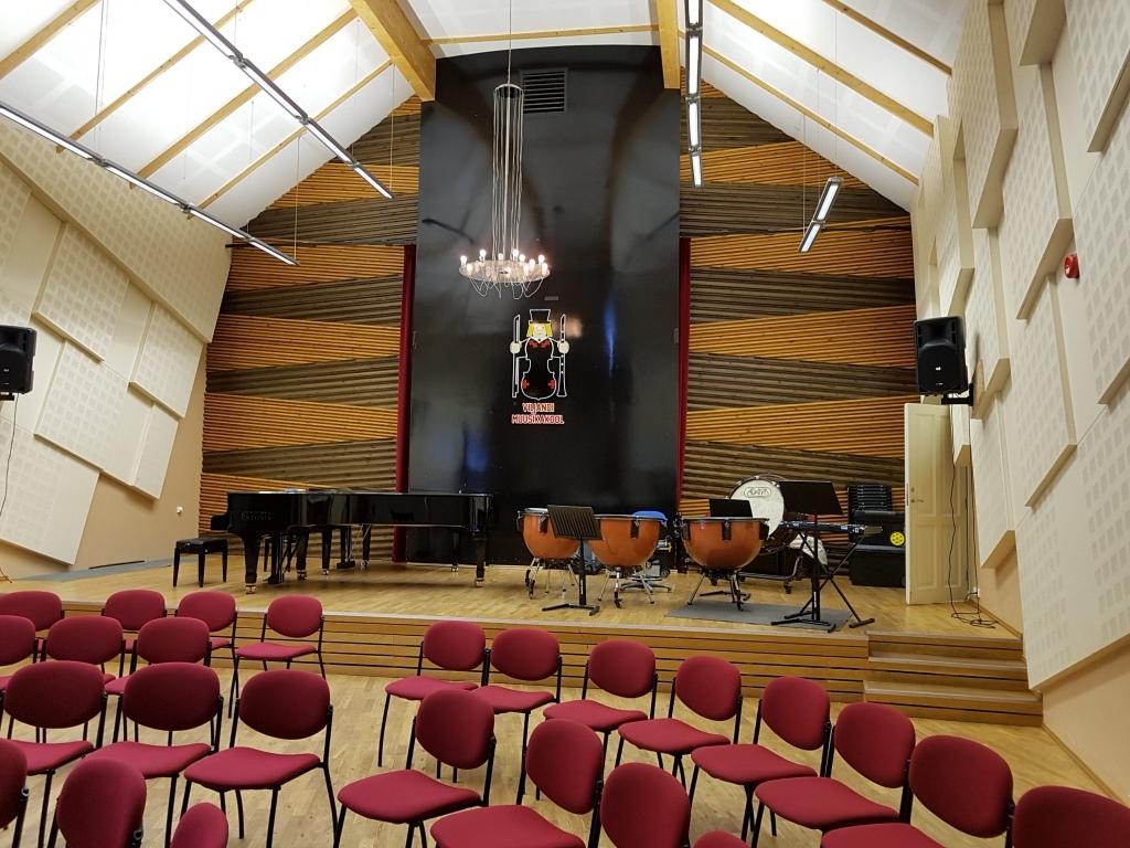 Orkestrimaja on enamus ajast rahvast täis